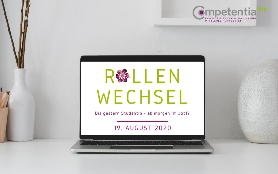 Online-Seminar Rollenwechsel 19.08.2020